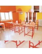 Tables scolaires réglables pour enfant, tables d'activités pour école.